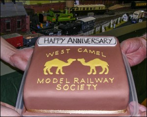 A cake donated by Alan Kinge to celebrate our 10th anniversary.